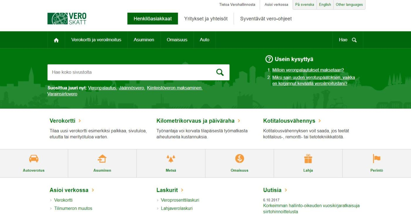 Finnish Tax Administration vero.fi